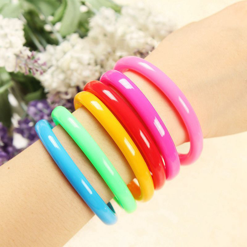 Freeship NEW <font><b>6</b></font> <font><b>12</b></font> <font><b>24</b></font> 36 neon ballpen pen bracelet wristband Kids teenage Party Bag pinata Filler Reward Toy party toys favors image