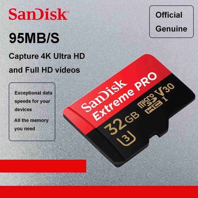 Sandisk Extreme Pro 128gb Microsd Memory Card Micro Sd Card 64gb Tf