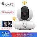 Podofo IP камера безопасности Wi-Fi беспроводная мини Сетевая камера наблюдения Wifi 1080P HD ночное видение CCTV камера детский монитор