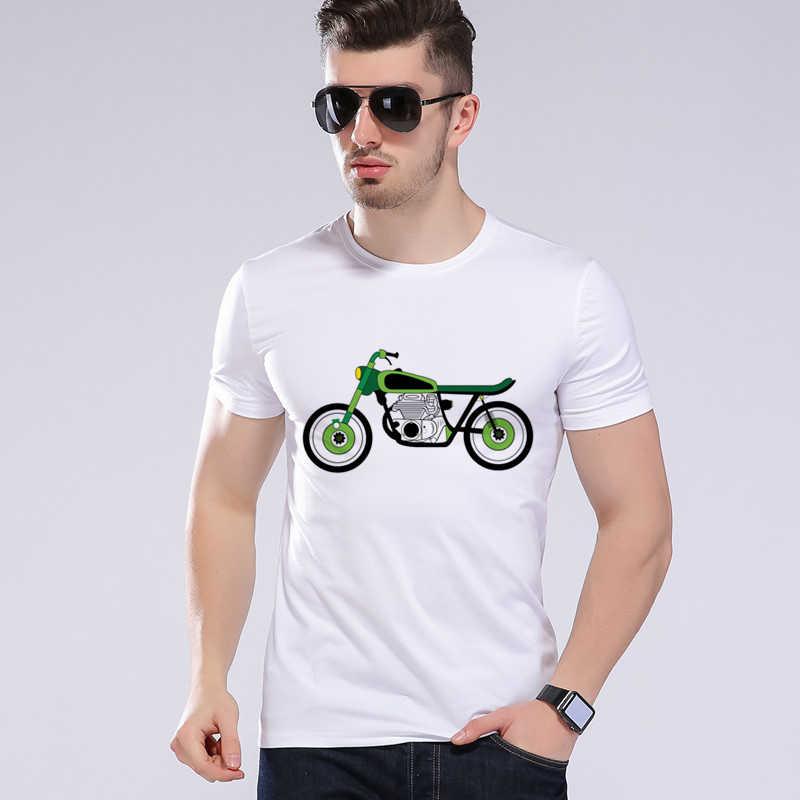 חדש היפ הופ החולצה אופנוע רכב-סטיילינג גברים של חולצה מצחיק רוכבים 1972 מכתב הדפסת חולצת טי מותג-בגדים משרד החינוך סרף H8-20 #