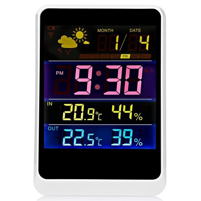 YGH391 Drahtlose Thermometer Hygrometer Wetterstation Vorhersage ...