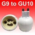 10 шт. / lot G9 к GU10 адаптер GU10 , чтобы G9 гнездо GU10 база лампа держатель преобразователь светодиодноеосвещение аксессуары