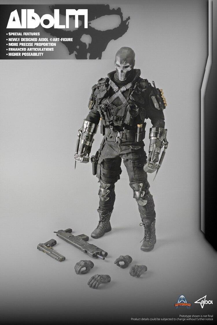 Art figures Ai 3 AIDOL 3 ALBOLM Cross Bones Soldier 1 6 Acton Figure