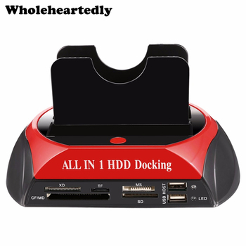 Newest All in 1 HDD Docking Station Dual Double 2.5