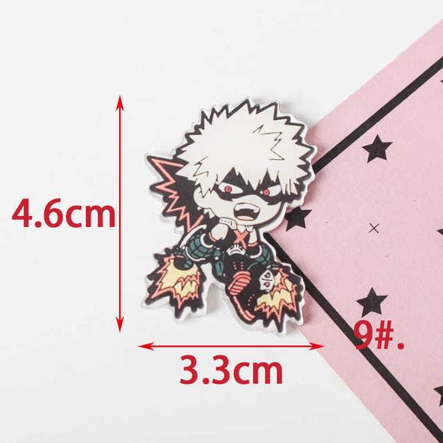 Tq 1 Pcs Mooie Mijn Hero Academia Cartoon Mix Voor Kleding Acryl Badges Kawaii Pictogrammen Op De Rugzak Pin Broche badge Z61
