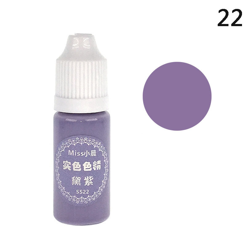 UV Resin Glue Pigment Color Liquid Dye Quick Drying For DIY Jewelry Making Crafts GHS99 in Paint By Number Paint Refills from Home Garden
