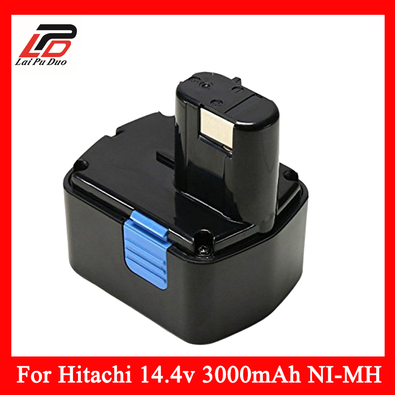 NEW 14.4v 3.0Ah Ni-MH Replacement Power Tool Battery For HITACHI DS14DVF3 EB1412S;324367 EB1414S;315129 EB14B;EB1430H,DS14DF3