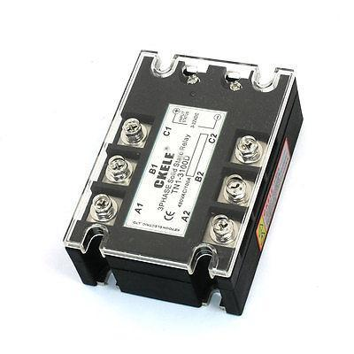 TN1/3100D 8 Terminals 3Phase SSR Solid State Relay 3-32VDC/480VAC 100A 660v ui 10a ith 8 terminals rotary cam universal changeover combination switch
