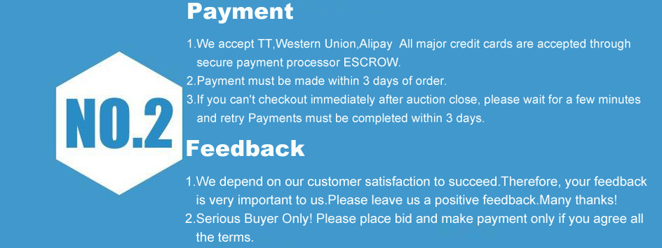 Payment and feedback