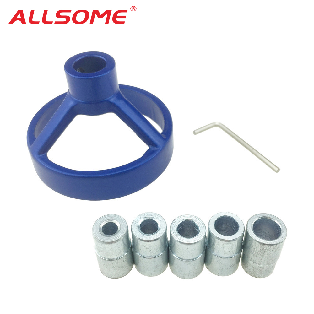 ALLSOME 90 Degree Drill Guide 6/7/8/9/10mm Drill Bit Hole Puncher Locator Jig Stainless Steel Bushing Woodworking Tools HT2148ALLSOME 90 Degree Drill Guide 6/7/8/9/10mm Drill Bit Hole Puncher Locator Jig Stainless Steel Bushing Woodworking Tools HT2148