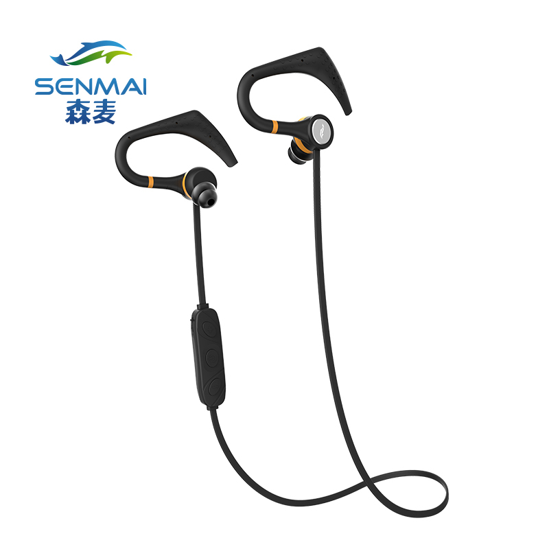 все цены на SenMai Bluetooth headphones noise canceling headphone sport wireless bluetooth earphone bass with mic онлайн