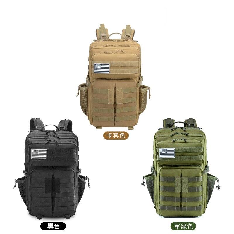 45L imperméable à l'eau haute capacité Sport en plein air sac à dos tactique escalade randonnée Trekking toile sacs de voyage - 6