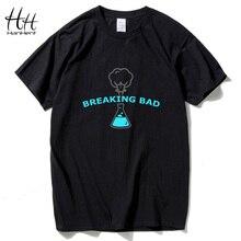HanHent Fashion Breaking Bad Chemistry Laboratory Men's T-shirts Cotton Short Sleeve Tee Shirts Summer Style Swag Black Clothing