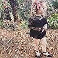 Детские Девочек комбинезон 2017 летний новый KAMIMI 100% Хлопок Детские Девушки цветок комбинезон Ползунки Новорожденных Девочек Летом детская Одежда 0-2Y