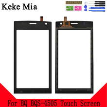 Keke Mia 4.5 New 4505 Touch Screen Digitizer For BQ BQS-4505 BQS Panel Glass Sensor Replacement