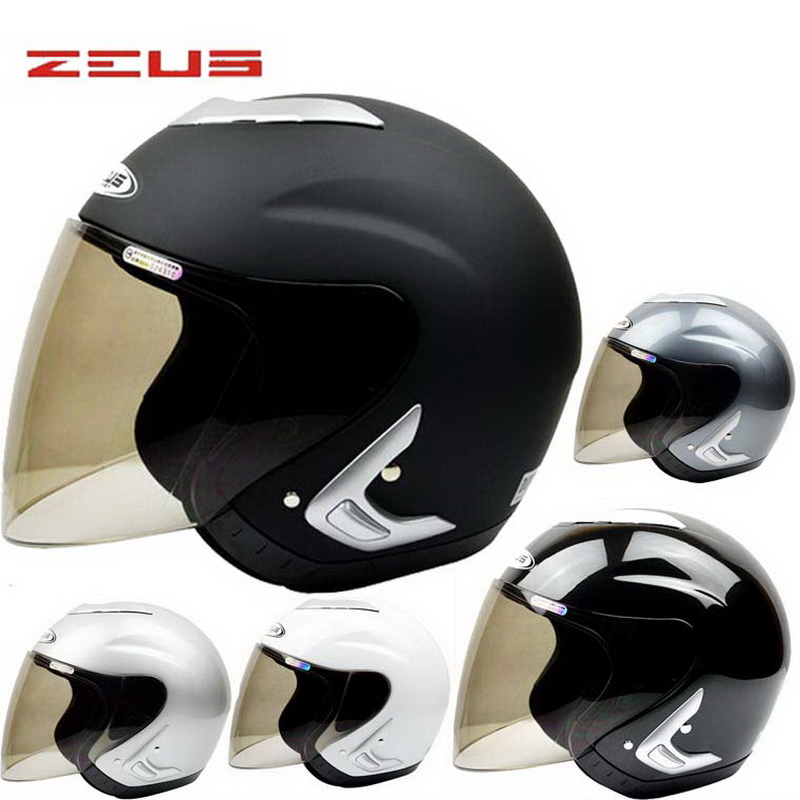 2017 New Taiwan ZEUS Half Face motorcycle/motorbike helmet ABS electric bicycle helmet helmets Four Seasons 607B Size M L XL XXL stylish 1 2 sleeve pure color pleated dress for women
