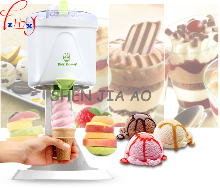 Ice Cream Maker-Milkshake  Frozen Fruit Ice Cream Smoothies