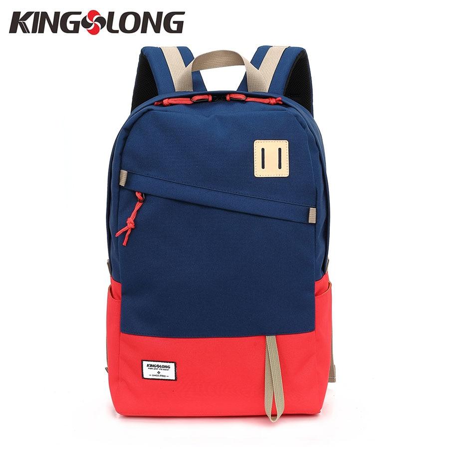 KINGSLONG Women Backpack Waterproof Bags 15.6 Inch Laptop Backpack Rucksack Daypacks Unisex School Bag for Teenagers KLB1340R-4 salewa 2015 daypacks chip 18 18