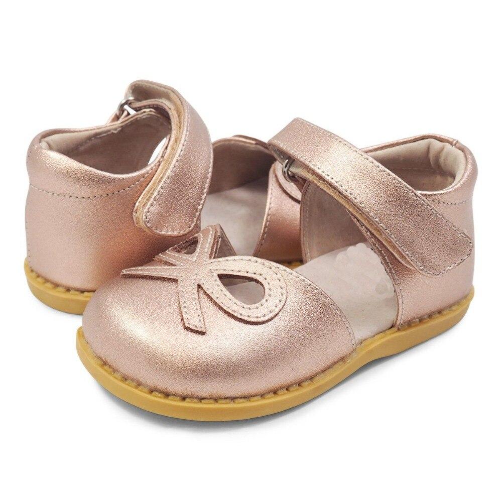 TipsieToes Top marque 100% cuir souple arc en été nouveaux garçons et filles enfants chaussures de plage enfants Sport sandales mode Sandali