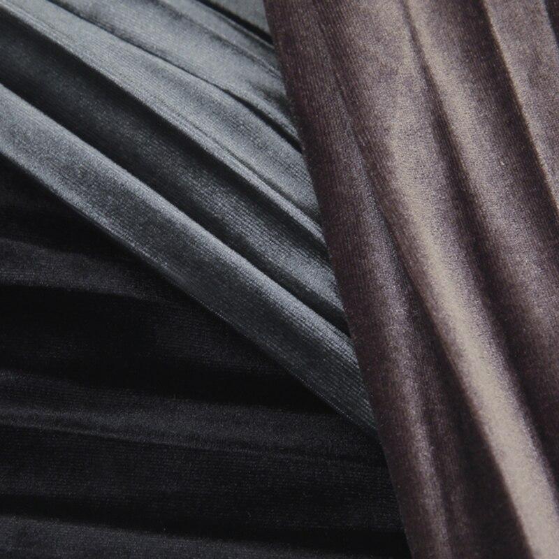 Women Skirts 2019 Streetwear Style Midi Pleated Skirt Women Elastic Waist  Chiffon Skirts Womens High Quality faldas