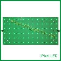 DC24V 17 Вт 72leds DMX512 RGB светодиодные панели, 5050 smd светодиодный алюминиевый точечная матрица, жесткая светодиодный дисплей