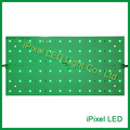 DC24V 17W 72leds DMX512 rgb led panel light ,5050 SMD aluminum led dot matrix,rigid led display