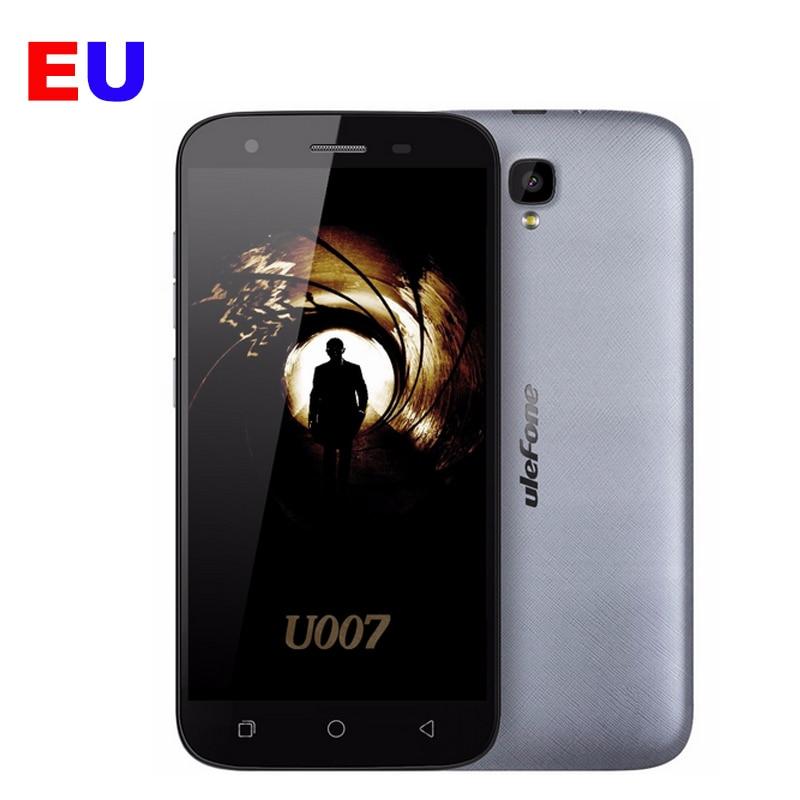 Ulefone U007 Cell Phone 5inch 1280x720 MTK6580A Quad Core 1GB RAM 8GB ROM 8MP Camera GPS 2200mAh Android 6.0 3G WCDMA Smartphone