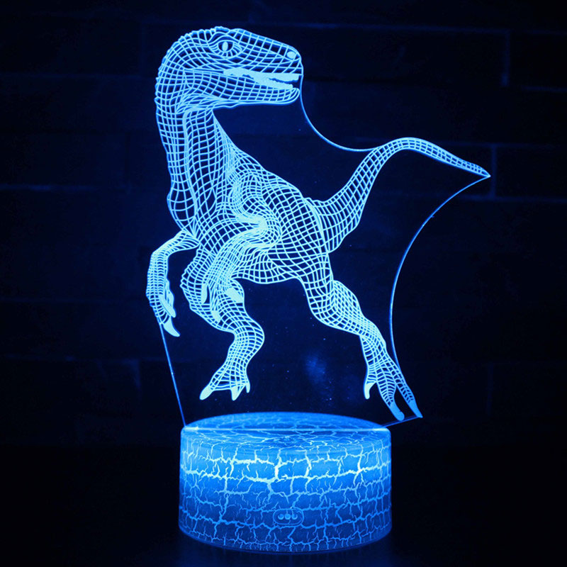 Raptors theme 3D Lamp LED night light 7 Color Change Touch Mood Lamp Christmas present DropshipppingRaptors theme 3D Lamp LED night light 7 Color Change Touch Mood Lamp Christmas present Dropshippping