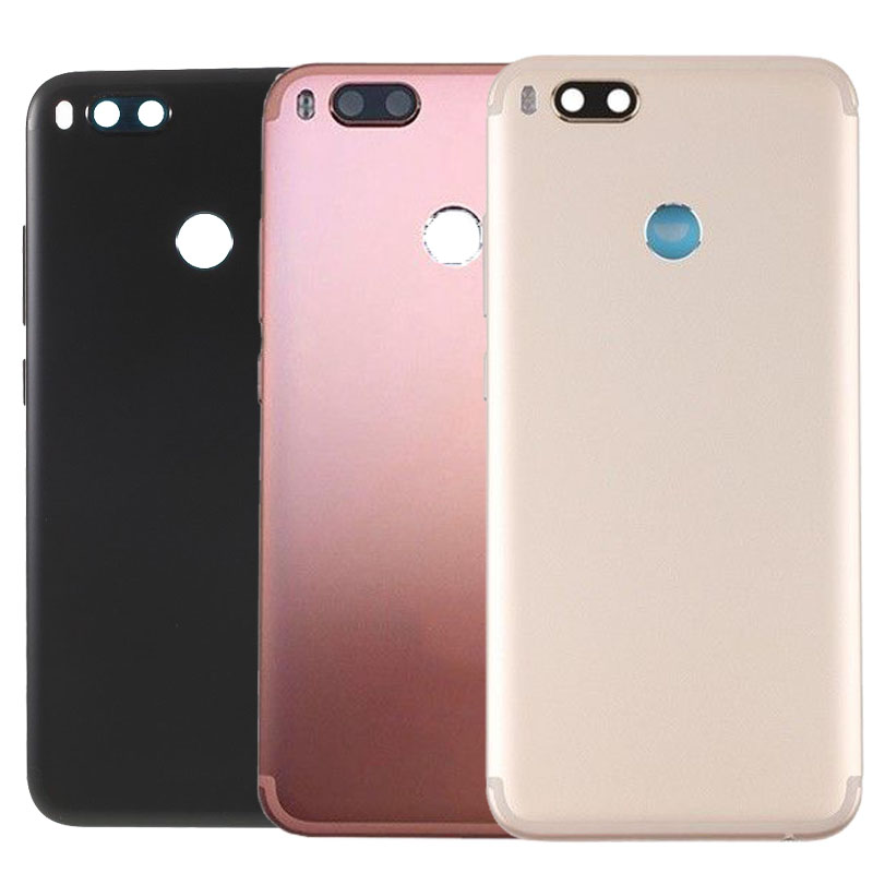For Xiaomi <font><b>Mi</b></font> 5X <font><b>A2</b></font> MDG2 <font><b>Battery</b></font> Cover Replacement Back Door Rear Housing Cover <font><b>Case</b></font> image