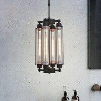 Винтаж чердак Led подвесные светильники T300 лампы промышленные Ресторан Подвесная лампа для фойе бар подвесные кровать огни декор для помеще