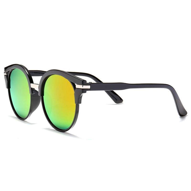 2019 nuevas gafas de sol de mujer de moda gafas de sol redondas - Accesorios para la ropa - foto 4