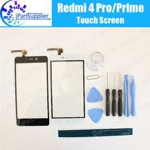 Получить скидку Для Xiaomi Redmi 4 Pro сенсорный экран 100% Новый высокое качество планшета стеклянная панель сборки Замена для Redmi 4 Премьер + Инструменты