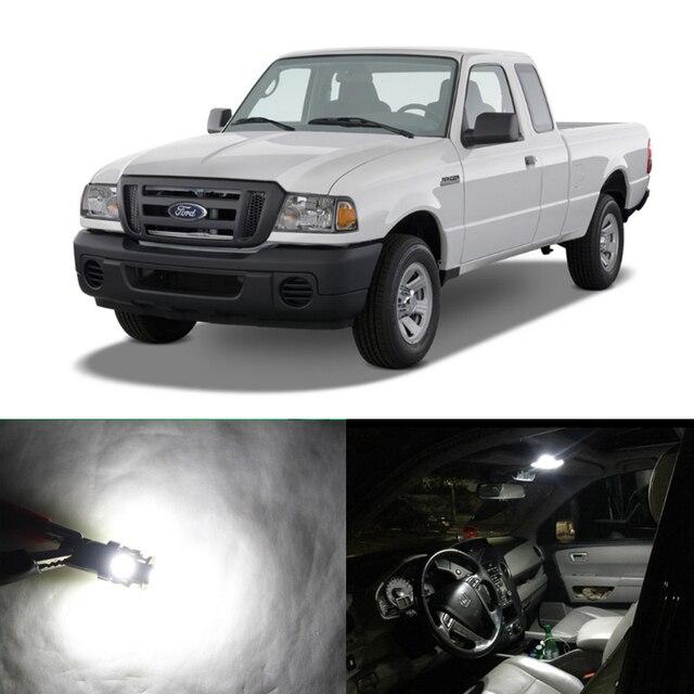 7pcs Xenon White Canbus Led Light Bulbs Interior Package Kit For Ford Ranger 1998 2017