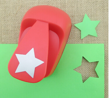 50mm Star Shape Super Large Shaper Punch Craft Scrapbooking Paper Puncher Large Craft Punch DIY Children Toys S2885 Puncher