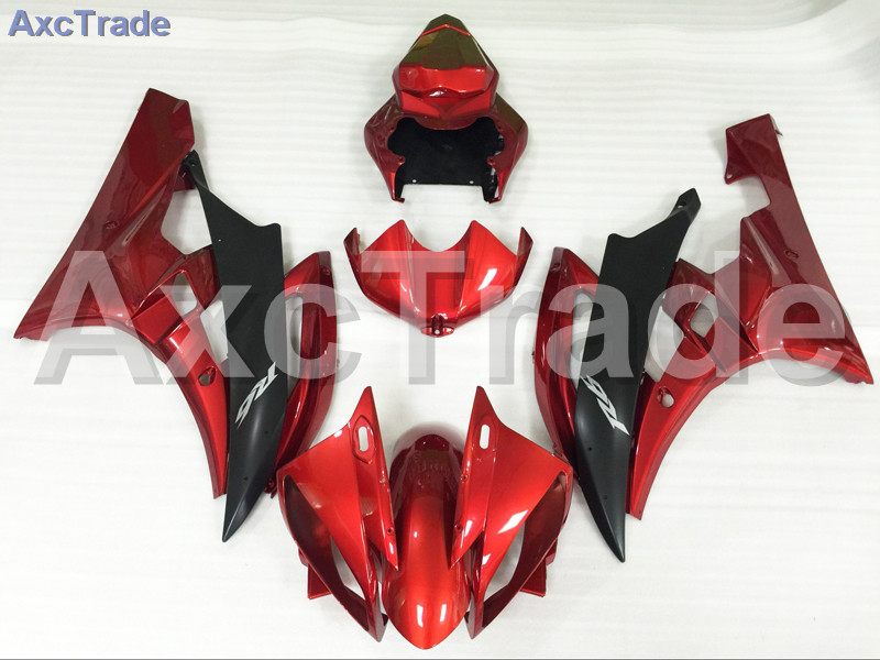 Motorcycle Fairings Kits For Yamaha YZF600 YZF 600 R6 YZF-R6 2006 2007 06 07 ABS Injection Fairing Bodywork Kit Red Black A886 injection molding hot sale fairing kit for yamaha yzf r6 06 07 white red black fairings set yzfr6 2006 2007 tr16