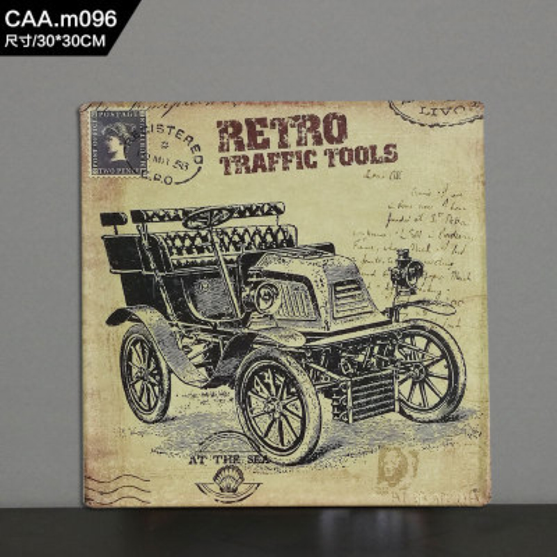 RETRO TRAFFC TOOLS Large Vintage Metal Painting Tin Signs Bar KTV ...