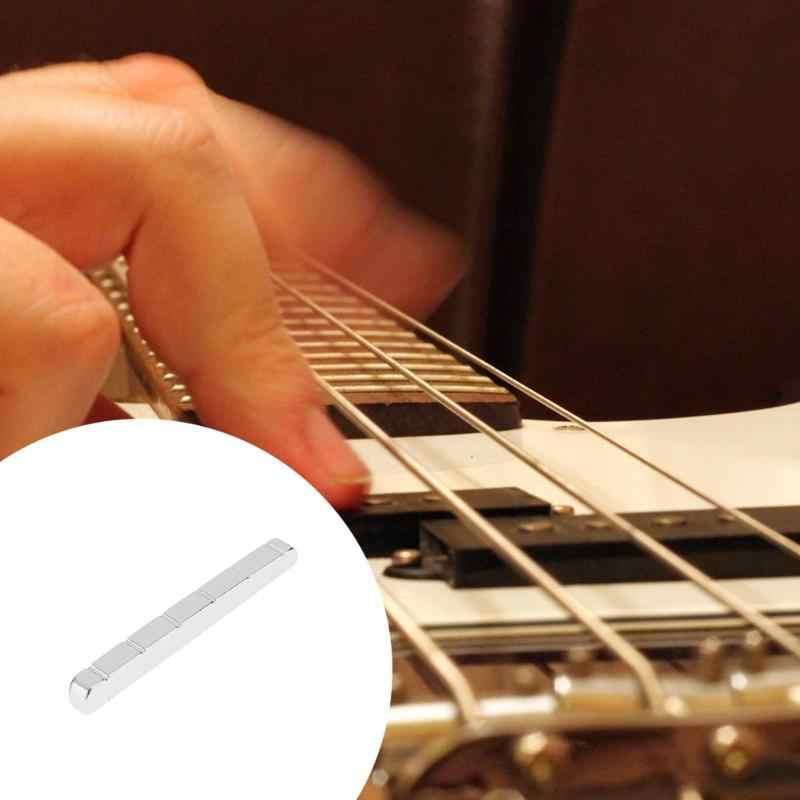6 string 42mm geschlitzte messing mutter für st tl e-gitarre ersatzteile