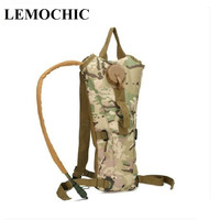 0 7L Tactical Bagkamp Malzemeleri Bottle Hydration Backpack Military Pouch Camping Camelback Bicycle Mochila De Hydration