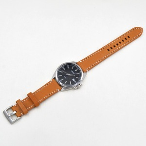 Image 5 - ที่ทำด้วยมือหนังแท้Watch Bands 18 19 20 21 22 23มิลลิเมตรสีดำสีน้ำตาลเข้มนาฬิกาข้อมือสายรัดเข็มขัดสำหรับภายใต้แบรนด์นาฬิกาแทนที่