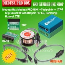 Оригинальный Новый Медуза PRO коробка Медуза коробка + адаптер JTAG MMC для LG для samsung для huawei с Optimus кабель