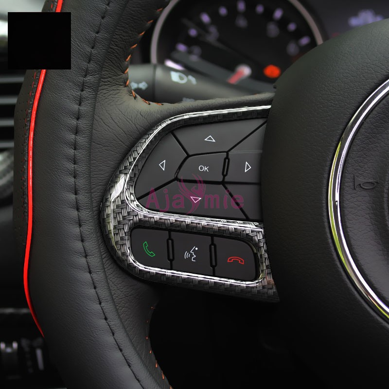 Inner Center Control Cover Trim Carbon Fiber Style 1* For Jeep compass 2017-2018