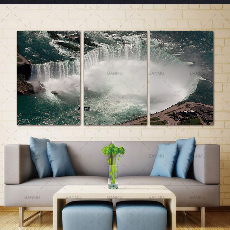 BANMU 3 Pcs Overlooking Transnational Waterfall Niagara Falls Thor ...