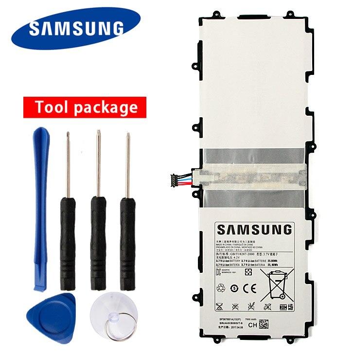 Original Samsung SP3676B1A Battery For Galaxy Note 10.1 GT-N8000 N8005 N8013 N8020 P7500 GT-P7510 P5100 P5113 7000mAh