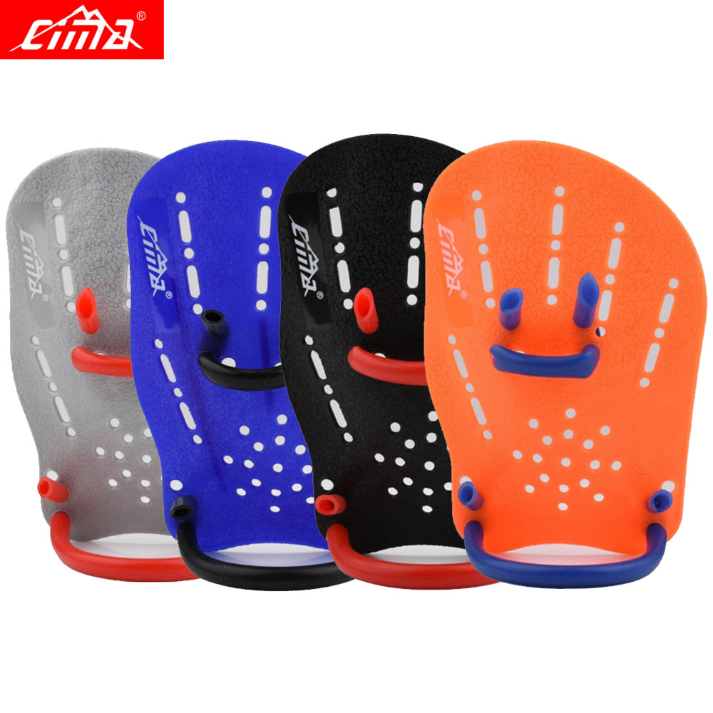 CIMA Swimming Paddle Children and Adults Frog Finger Diving Gloves Palm Hand Wear Fins for Beginner Equipment
