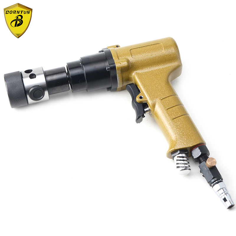 Borntun 3/8 M4-M12 Pneumatic Air Drill 10mm Pistol Pneumatic Air Drilling Drill Tool Set Air Tools Air Tapping Wrench Gun Tools sat1881y pneumatic wrench high quality 3 8 air wrench power tool air wrench