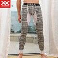 Mens pantalones térmicos calzoncillos largos para el invierno hombre marca xuba comfy underwear térmica sexy long john pantalones calientes 1644103