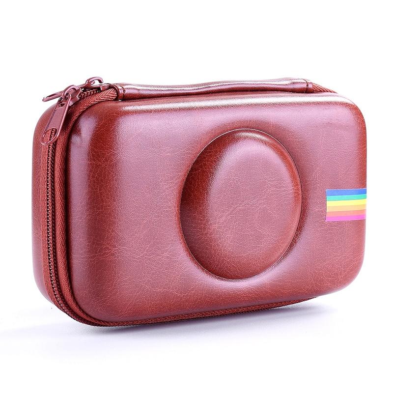 Gutherzig Pu Retro Schutzhülle Abdeckung Leder Tasche Für Polaroid Snap Touch Instant Print Digital Kamera Braun (nur Fall) Ein Unverzichtbares SouveräNes Heilmittel FüR Zuhause