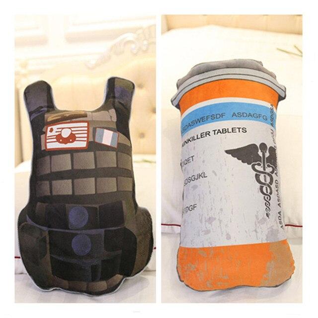 PUBG Playerunknowns Battlegrounds first aid kit painkiller bandage Air drop Storage box Plush Gift Plush pillow kids adults gift 1