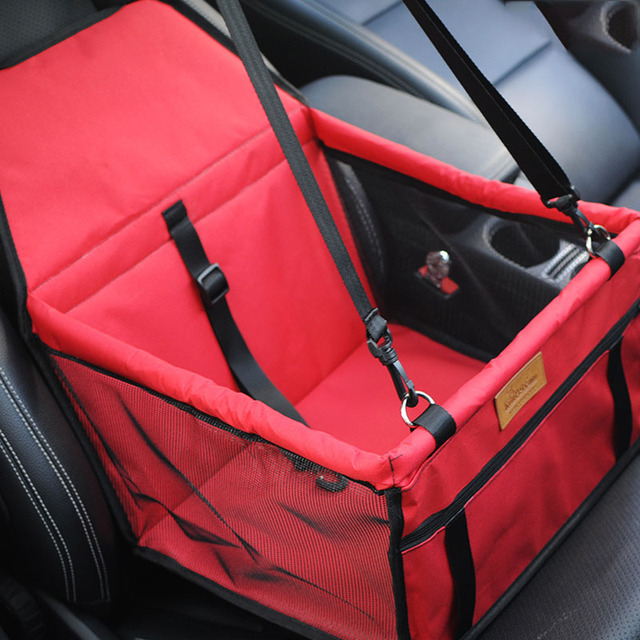 Double Thick  Travel Accessories  Mesh Hanging Bags Folding  Pet Supplies Waterproof Dog Mat Blanket Safety  Pet Car Seat Bag 1