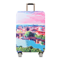 Waterproof Travel Luggage Cover Starry Sky Elastic Trolley Suitcase Women S Men S Protect Dust Case